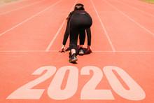 2020 Newyear , Athlete Woman S...