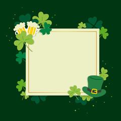 Saint Patricks Day invitation