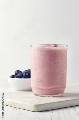 Garden Poster Milkshake iogurte de frutas vermelhas