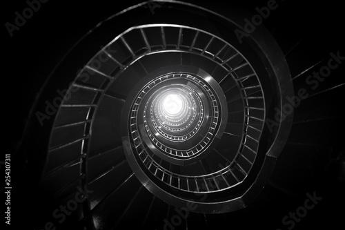 Foto auf AluDibond Spirale spiral