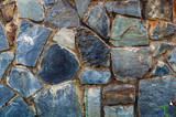 Background texture of old rough granite stones