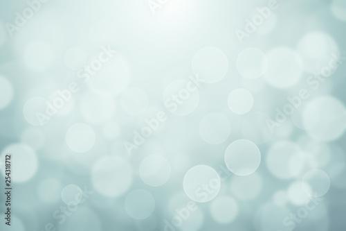 Photo  Light Green Blue blurred soft lights bokeh textured abstract background, Light w