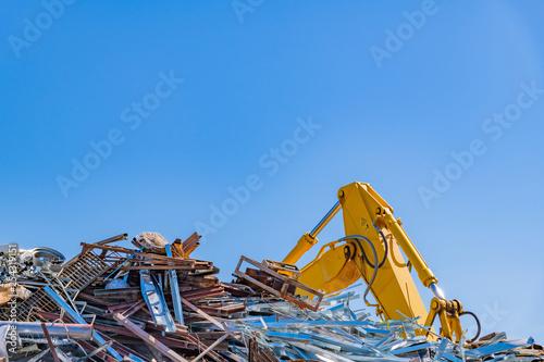 La pose en embrasure Aeroport スクラップ 産業廃棄物 ゴミの山