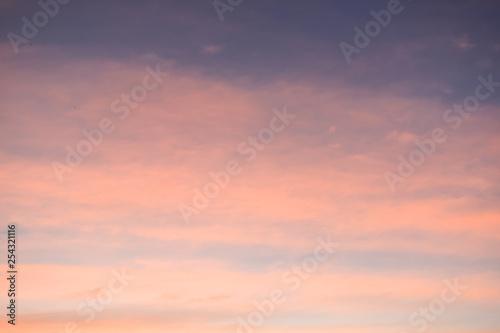 Photo  colorful cloud above twilight sky