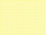 ギンガムチェック 背景 黄色 - 254324935