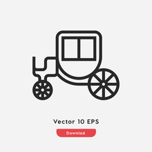 Phaeton  Icon Vector