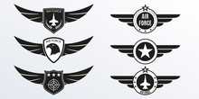 Air Force Logo With Wings, Shi...