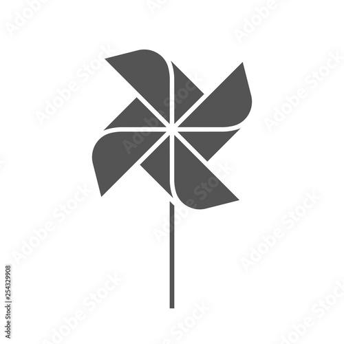 Valokuvatapetti The pinwheel logo