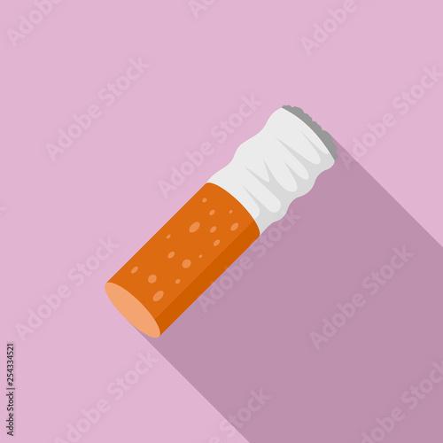 Cigarette goby icon Tablou Canvas