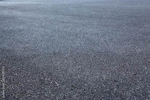 Fotografiet  black asphalt road