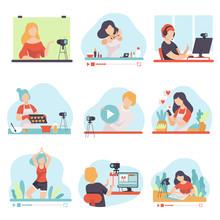 Blogging And Vlogging Set, Peo...