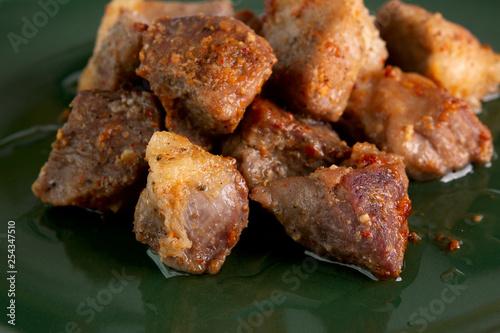 Fotografie, Obraz  Hot pork slices