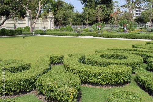 Fotografie, Obraz  Dans le parc Dusit (Bangkok - Thaïlande)
