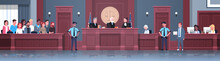 Law Process With Judge Jury Su...
