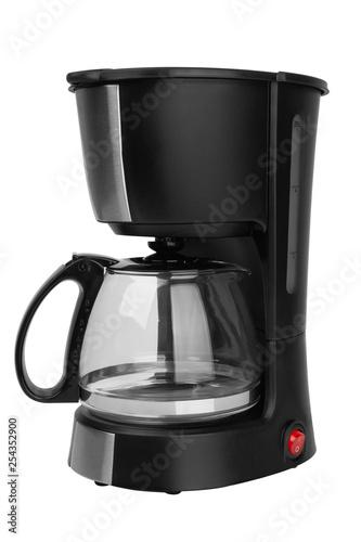 Fototapeta Coffee maker isolated