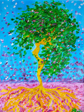 Oil Painting, Tree Of The Shap...