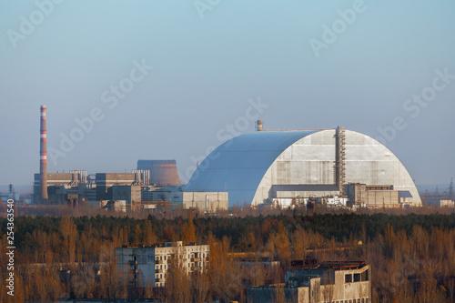 Fotografie, Obraz Chernobyl Nuclear power plant 2019