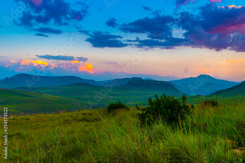 Photo  Drakensberg mountains, Royal Natal National Park, South Africa