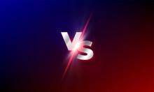 VS Versus Vector Background. R...