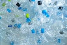 Background Of Many Plastic Bot...