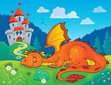 Sleeping Dragon Theme Image 2