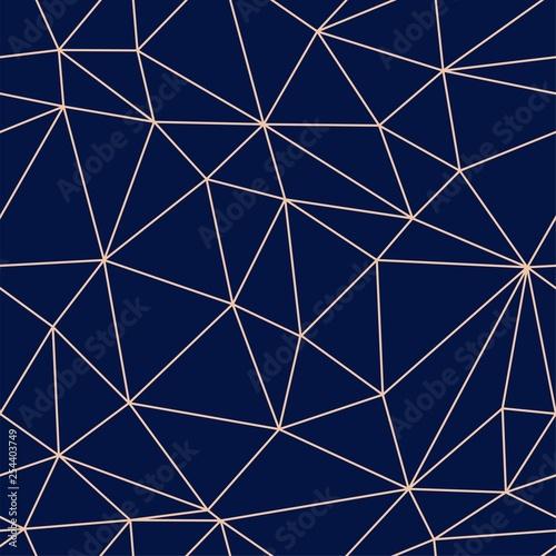 fototapeta na drzwi i meble Geometric modern line seamless vector pattern