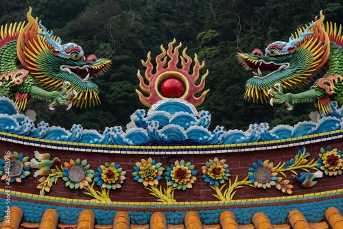 Fotografie, Obraz  Temple Roof