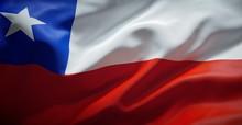 Bandera Chilena. (Chile)