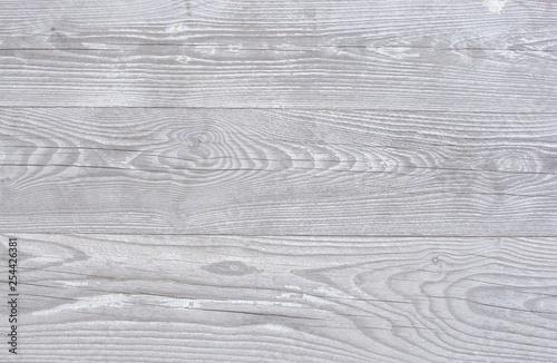 Fotografie, Obraz  Soft gray brown wood board background texture