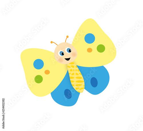 Photo piccola farfalla carina