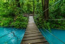 Costa Rica Rio Celeste Vulcano Tenorio National Park