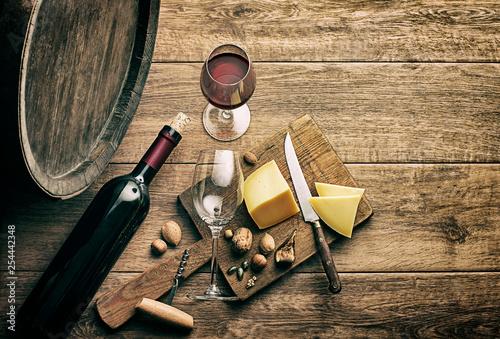 Cuadros en Lienzo Wine background