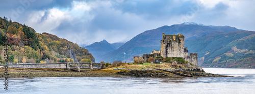 Eilean Donan Castle during autumn - Dornie, Scotland - United Kingdom