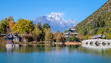 Black Dragon Pool In Lijiang O...