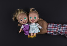 Two Scary Dolls