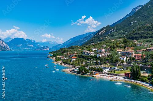 Keuken foto achterwand Landschap Lago di Garda