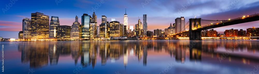 Fototapeta New York  City lights