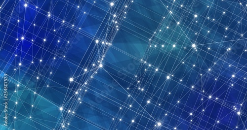 Fotografia  Background Abstract Dynamic Plexus Futuristic Technology