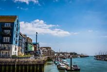 Littlehampton Harbour Along Th...