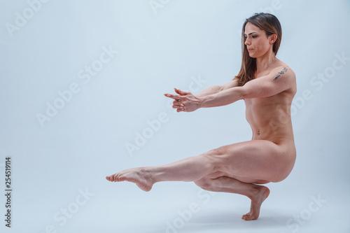 Leinwanddruck Bild - ilcianotico : ritratto di bella razza muscolosa