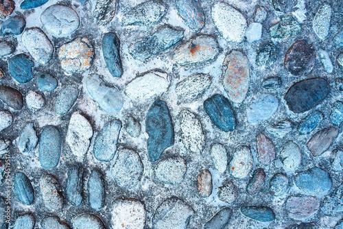 Photo strada di pietre