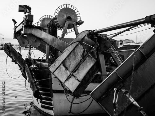 Fotografie, Obraz  Fishing boat in the fishing port of Santa Pola, Alicante, Spain