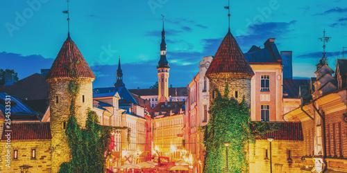 Tallinn, Estonia Canvas