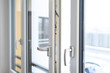 canvas print picture - Fenster mit Isolierverglasung
