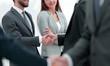 concept of partnership.business handshake