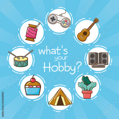 my hobby related Fotobehang