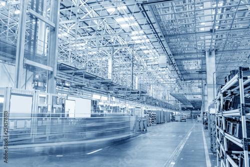Obraz na plátně  Automobile production line