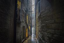 Edinburgh Medieval Narrow Streets