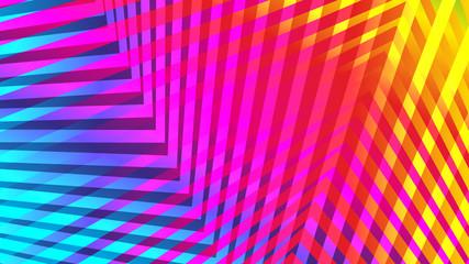 jaskrawe kolory abstrakcyjn...