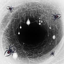 Black Widow Spiders Nest 3d Re...